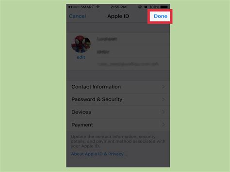 2 iphones with same apple id how to change an apple id photo on an iphone 7 steps