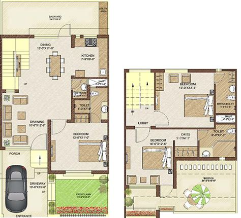 home design 25 x 50 25 215 50 house plan house design ideas