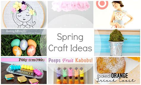 spring ideas show tell no 40 spring craft ideas tauni co