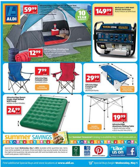 aldi folding table 2017 discount roo supplies deals inforoo com bonnaroo