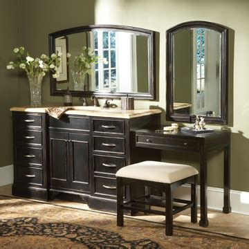 sink bathroom vanity with makeup table mugeek