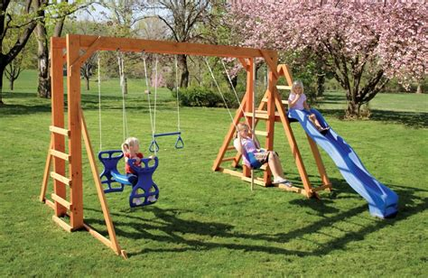 swing sets lancaster pa the honeybear hangout stained wood swingsets lancaster