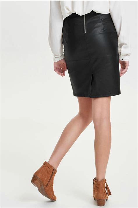 only celina faux leather skirt from canada by manhattan