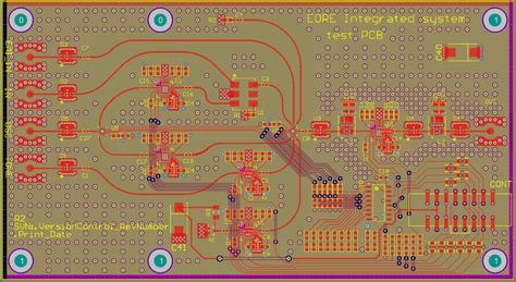 pcb rf layout critique input   radio telescope pcb electrical engineering stack exchange