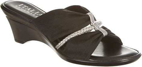 italian shoemakers womens torch wedge sandals ebay