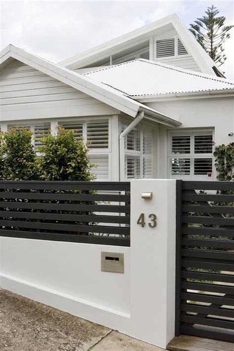 fence design for small house small house fence design nowoczesne ogrodzenie domu inspiracje realizacje design
