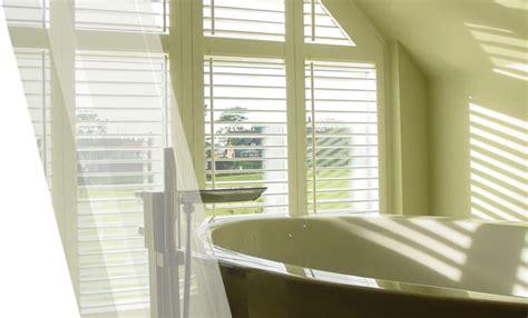 bathroom shutters waterproof shaped window blinds wolverhton walsall cannock