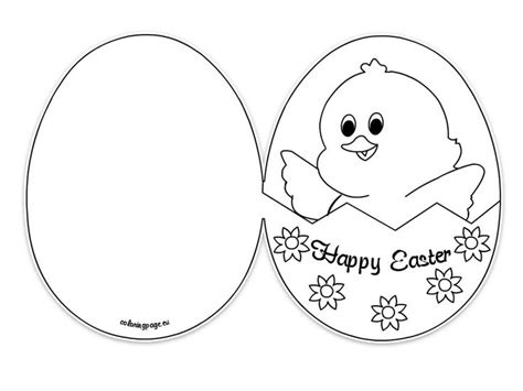 Easter Card Templates Printable by 56 Best Images About Easter On Coloring Shape