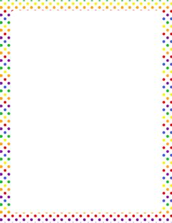 dot pattern border free pattern borders clip art page borders and vector