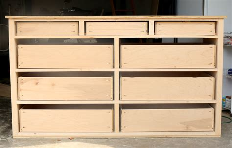 Dresser Construction by How To Build A Dresser