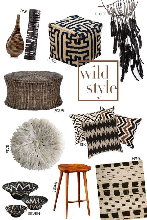 Tribal Inspired Accessories by Tribal Home Decor Style Tribal And Ethnic Home