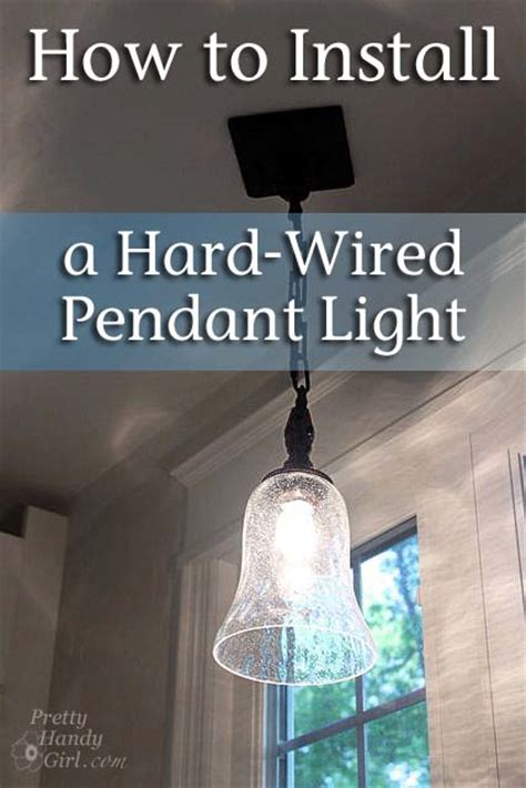 Install Pendant Light How To Install A Wired Pendant Light Pretty Handy