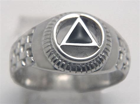 white gold silver aa rings