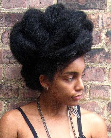 womens bush cut how to cut down on detangling time by stretching natural