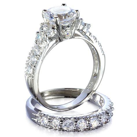 Wedding Ring Cz by Jewelry Box S Fancy Faux Cz Wedding Ring