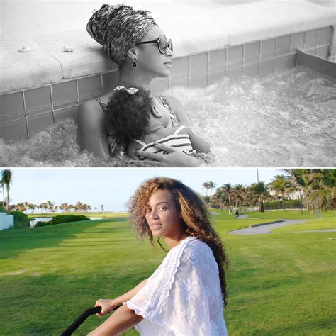 beyonce bathtub beyonce and blue ivy carter in a hot tub pictures