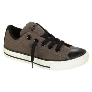 Promo Sepatu Casual Converse Ox Chuck Gray converse youth boys athletic casual chuck ox grey black fitness sports