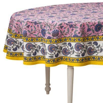 christmas oval tablecloth