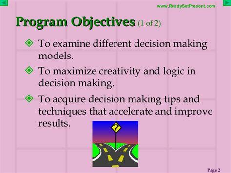 Kaos Programmer Logic And Creativity decision powerpoint