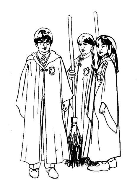 harry potter the coloring book harry potter coloring pages coloringpages1001