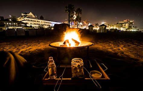 Coronado Pits hotel coronado pit s mores at coronado california hotel coronado