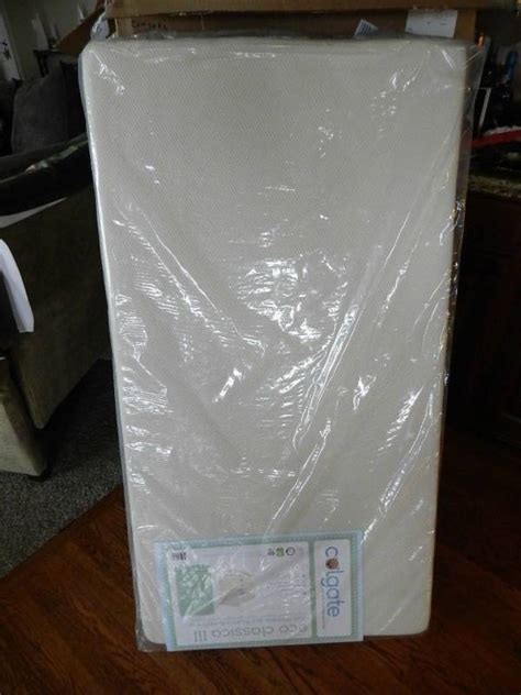 Colgate Classica Iii Foam Crib Mattress Colgate Eco Classica Iii Dual Firmness Foam Crib Mattress Kathstore