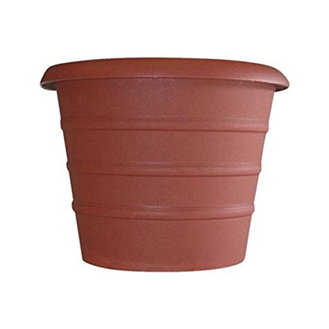 12 Inch Planter by 12 Inch Marina Series Self Watering Planter Terra Cotta Ace