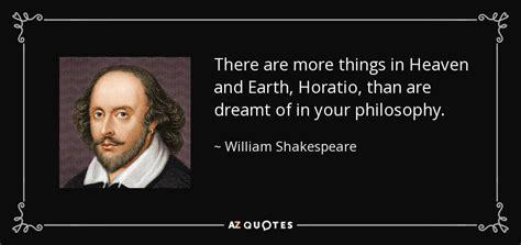 william shakespeare quote      heaven  earth horatio