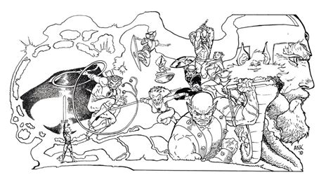 coloring with thunder cats coloring pages