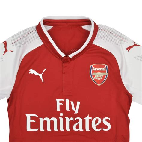 arsenal home kit arsenal 17 18 home kit released footy headlines