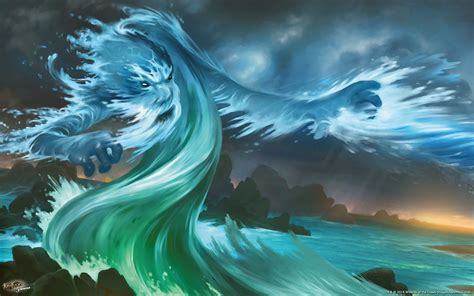 The Mystics image the mystic of water artwork png kaijudo wiki
