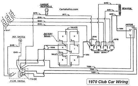 club car caroche wiring diagram cartaholics golf cart forum