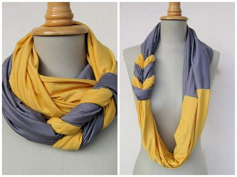 How To Make A Handmade Scarf - braided jersey scarf