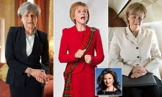 Happy Presidents Day From Tracey Ullman by Theresa May Gets The Tracey Ullman Treatment Daily Mail