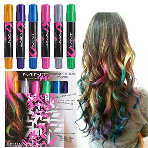 best temporary hair color for kids hair color fashion styles hot hues hair chalk for girls temporary pops of hair