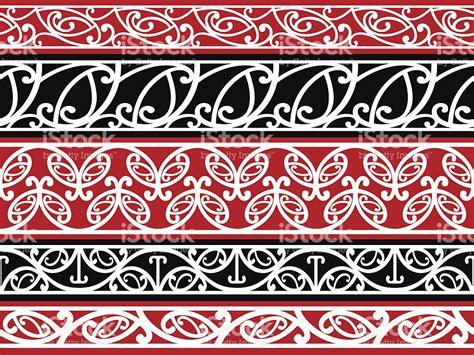 kowhaiwhai design meaning seamless maori kowhaiwhai patterns stock vector art more