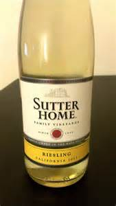 creighton s wine tasting sutter home riesling