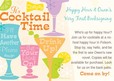 happy hour invitation template happy hour invitation wording