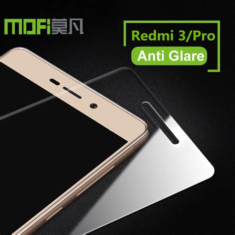 Tempered Glass Xiaomi Redmi3 Pro Temper Glass Anti Gores Kaca redmi 3s glass mofi tempered glass xiaomi redmi 3s screen