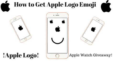 apple logo emoji how to get the apple logo emoji youtube