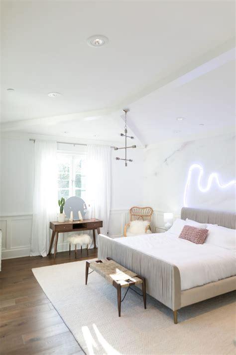 palm springs pastel bedroom makeover for alisha