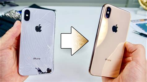turn your iphone x into a xs gold kit