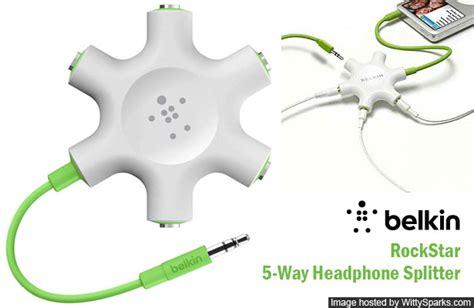 Dijamin Belkin Rockstar 5 Ways 3 5mm Headphone Splitter with belkin 5 way headphone splitter wittysparks