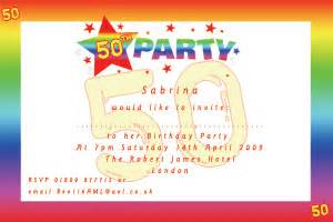 50th birthday invitation templates word 50th birthday invitations printable free wedding