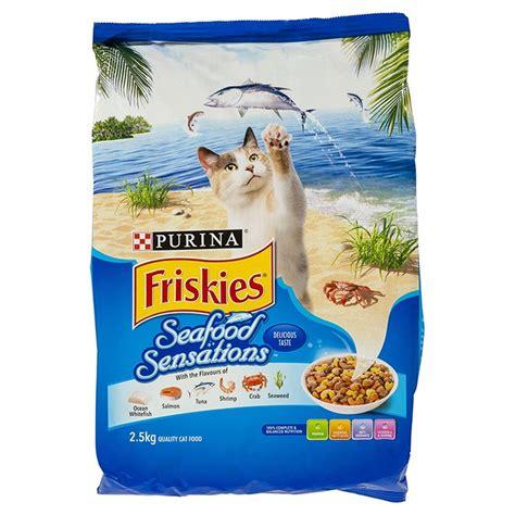 Friskies Seafood Sensation 12kg Cat Food For purina friskies seafood sensations 2 5kg petbarn