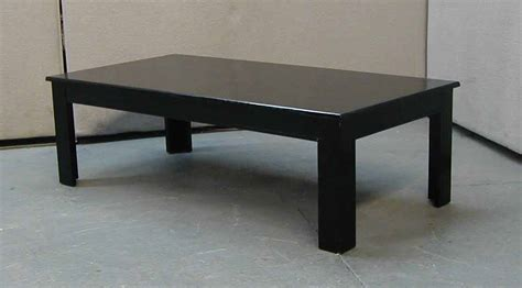 Black Coffee Table by Wood Furniture Black Coffee Table