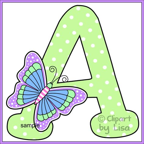 printable letters with butterflies butterfly alphabet