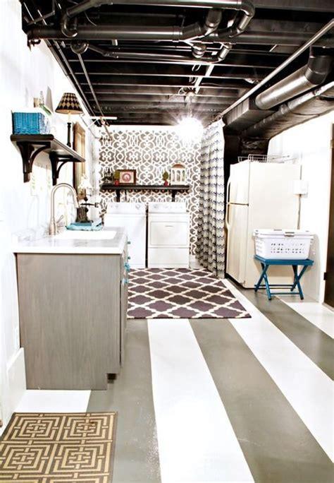 36 Practical And Stylish Basement Ceiling Décor Ideas