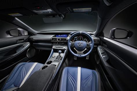lexus rc f 2017 interior lexus rc f gs f matte grey special editions coming to