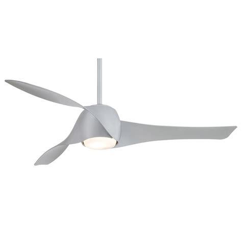artemis ceiling fan by minka aire 58 inch silver fan